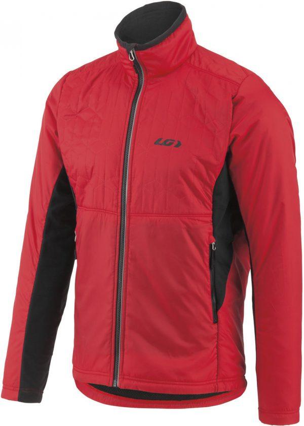 Велокуртка Garneau Haven Hybrid Jacket 276 Red/Black