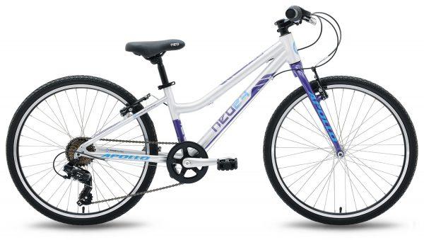 Велосипед 24″ Apollo Neo 7s Girls Violet/Blue 2021