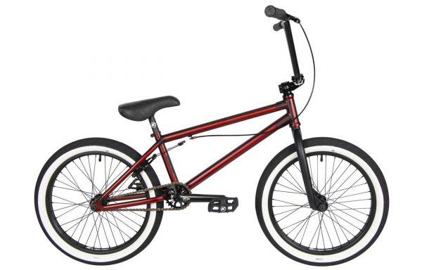 Велосипед 20″ Kench Pro Cro-Mo (STREET PRO) Красный металлик (мат)
