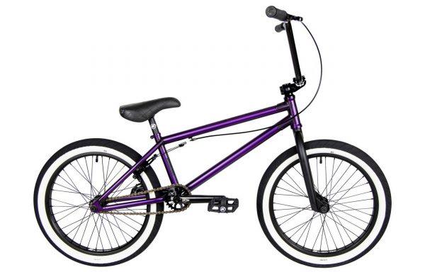 Велосипед 20″ Kench Pro Cro-Mo (STREET PRO) Фиолетовый металлик (мат)