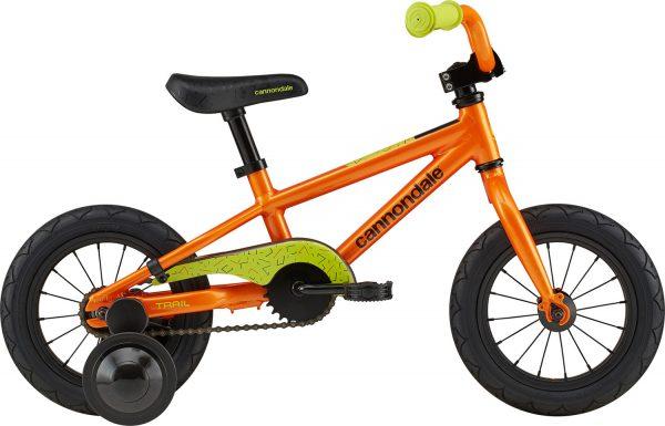 Велосипед 12″ Cannondale TRAIL 1 BOYS OS CRU, оранжевый 2021