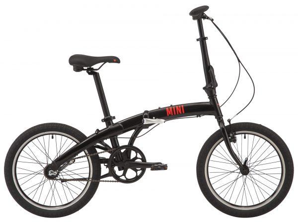 Велосипед 20″ Pride Mini 3 Black 2021