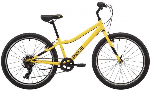Велосипед 24″ Pride BRAVE 4.1 желтый 2021