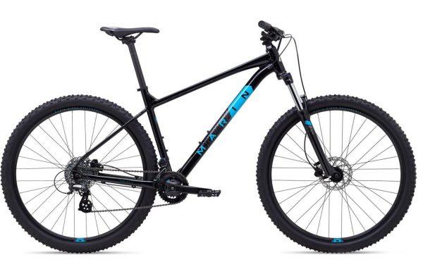 Велосипед 27,5″ Marin BOBCAT TRAIL 3 Gloss Black/Charcoal/Cyan 2021