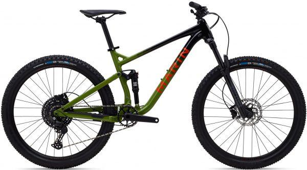 Велосипед 27,5″ Marin RIFT ZONE 1 Gloss Black/Green/Orange 2021