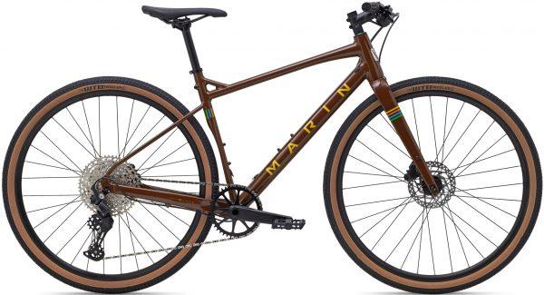 Велосипед 28″ Marin DSX 2 Brown/Yellow 2021