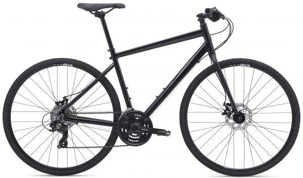 Велосипед 28″ Marin FAIRFAX 1 Gloss Black/Satin Black 2021