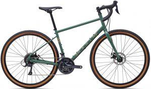 Велосипед 27,5″ Marin FOUR CORNERS Gloss Green/Tan 2021