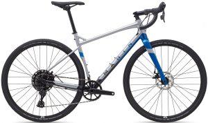 Велосипед 28″ Marin GESTALT X10 Gloss Chrome/Blue/Black 2021
