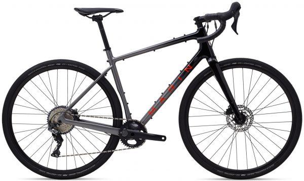 Велосипед 28″ Marin HEADLANDS 1 Gloss Charcoal/Black/Roarange 2021