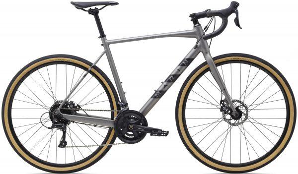 Велосипед 28″ Marin LOMBARD 1 Satin Charcoal/Reflective Black 2021