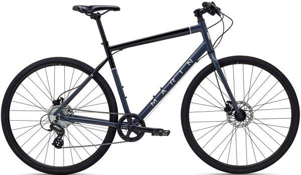 Велосипед 28″ Marin PRESIDIO 1 Gloss Black/Grey 2021