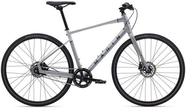 Велосипед 28″ Marin PRESIDIO 2 Satin Charcoal/Silver/Gloss Black 2021