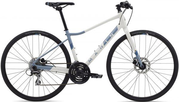 Велосипед 28″ Marin TERRA LINDA 2 Gloss White/Ash Blue/Deep Blue 2021