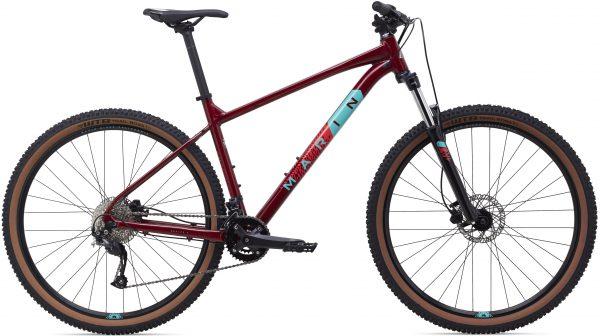 Велосипед 29″ Marin BOBCAT TRAIL 4 Gloss Crimson/Teal/Red 2021
