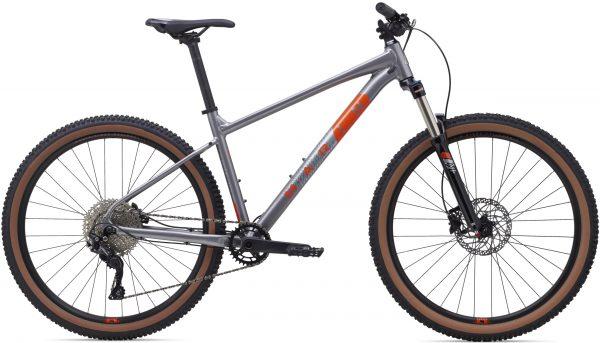Велосипед 29″ Marin BOBCAT TRAIL 5 Gloss Charcoal/Silver/Roarange 2021