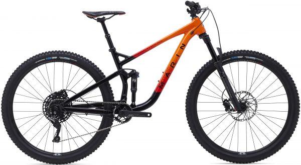 Велосипед 29″ Marin RIFT ZONE 3 Gloss Black/Roarange/Red 2021