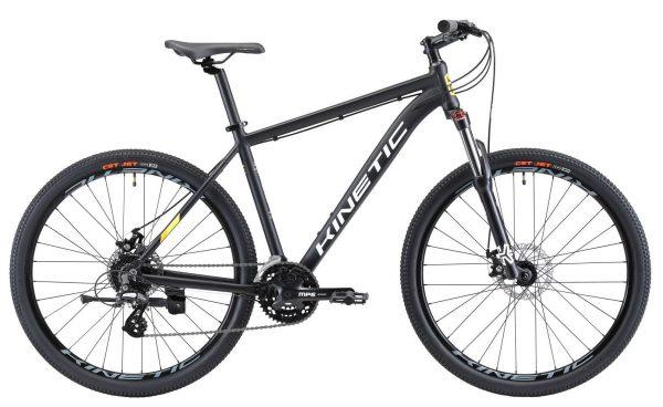 Велосипед 27,5″ Kinetic Crystal Black 2021