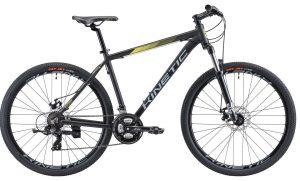 Велосипед 27,5″ Kinetic Storm Black 2021