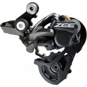 Переключатель задний Shimano RD-M640 ZEE, 10 скоростей, Shadow +
