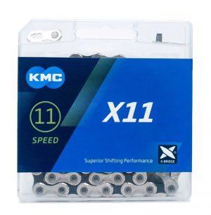 Цепь KMC X11, 11 скоростей, 118 звеньев + замок
