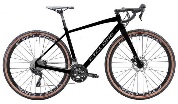 Велосипед 28″ Cyclone GSX Black 2021