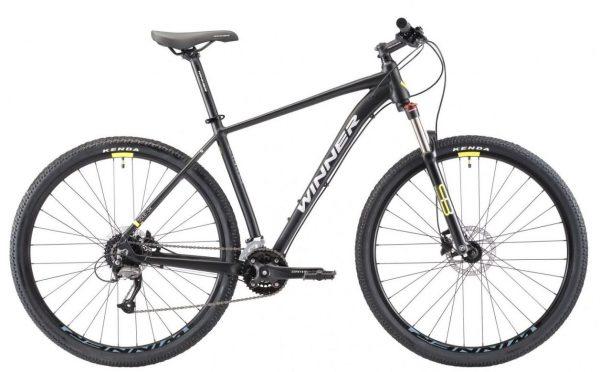 Велосипед 29″ Winner Solid DX Black 2021
