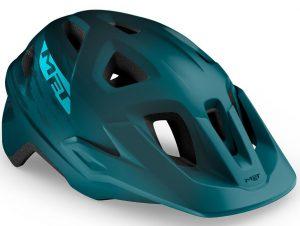 Шлем MET Echo CE Petrol Blue (матовый)