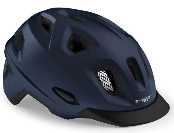 Шлем MET Mobilite CE Blue   Matt