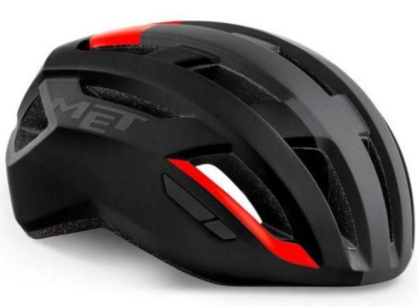 Шлем MET Vinci MIPS Black Red   Matt