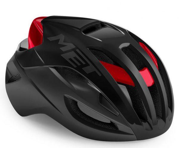 Шлем Met Rivale CE Black Red Metallic | Matt Glossy