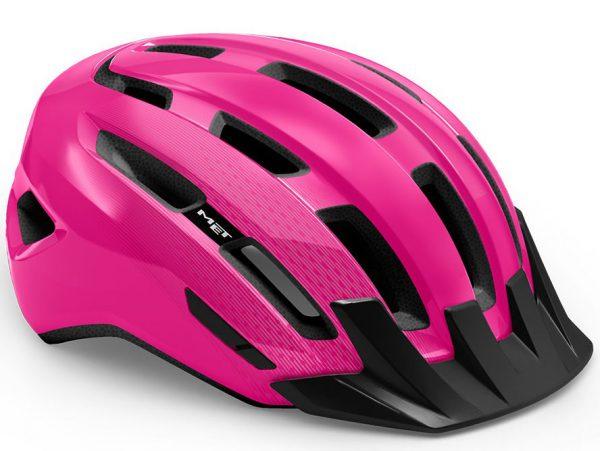 Шлем MET Downtown Pink | Glossy