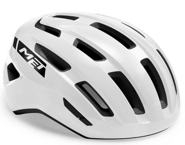 Шлем Met Miles MIPS CE White | Glossy