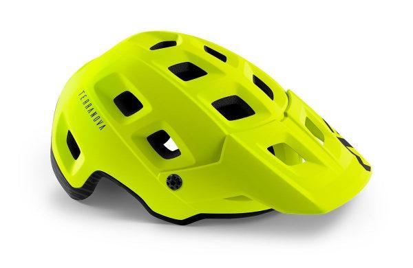 Шлем MET Terranova MIPS CE Lime Green | Matt
