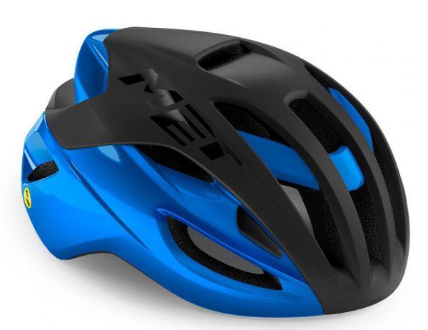 Шлем Met Rivale MIPS CE Black Blue Metallic | Matt Glossy