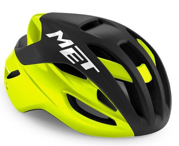 Шлем Met Rivale MIPS CE Black Fluo Yellow | Matt Glossy