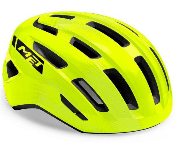 Шлем Met Miles MIPS CE Fluo Yellow | Glossy