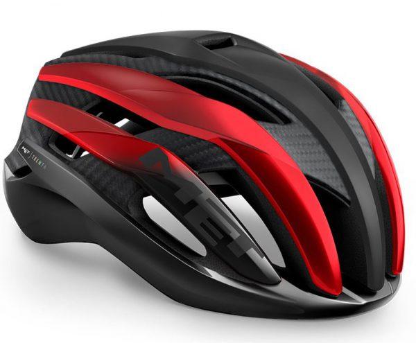 Шлем MET Trenta 3K Carbon CE Black Red Metallic | Matt Glossy