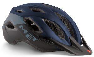 Шлем MET Crossover Blue-Black (матовый)