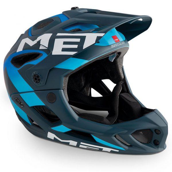 Шлем MET Parachute Blue-Cyan(матовый)