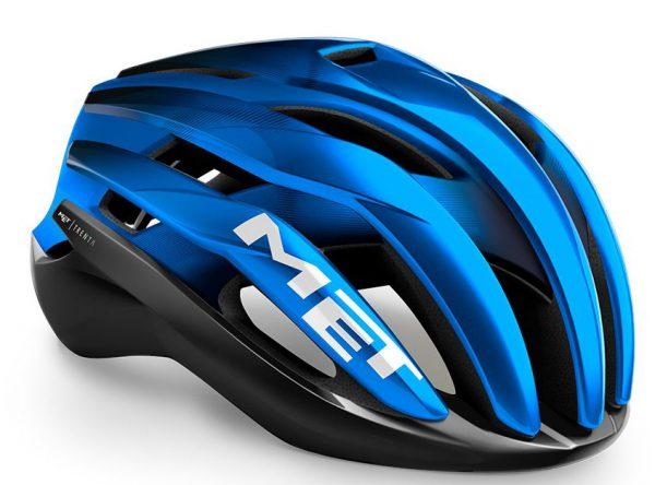 Шлем MET Trenta MIPS Black Blue Metallic | Matt Glossy