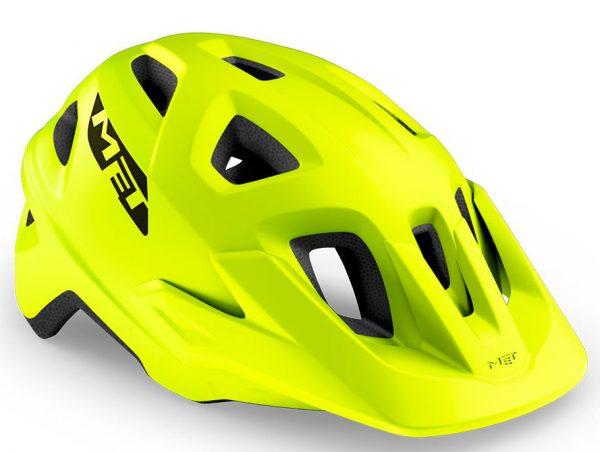 Шлем MET Echo CE Lime Green (матовый)