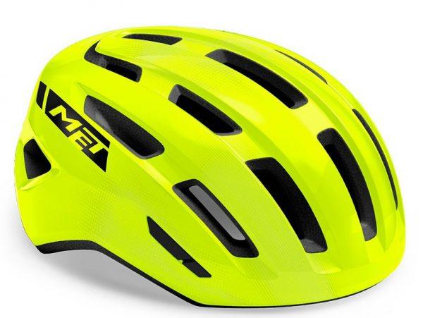 Шлем Met Miles CE Fluo Yellow | Glossy