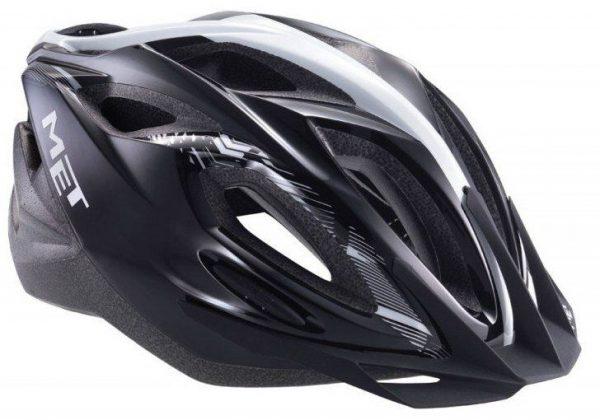 Шлем MET XILO Un Panel Black — Silver