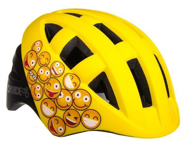 Шлем детский Onride Bud смайлы, желтый