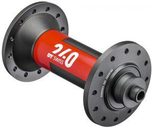 Втулка передняя DT Swiss 240 100/QR NONDISC ROAD 24 отв.