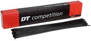 Спицы изогнутые DT Swiss Competition Race 2.0 / 1.6 x 272-296 мм, черные 100 шт