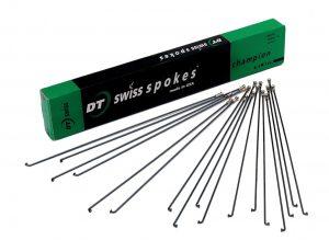 Спицы DT Swiss Champion 2.0 x 268-300 мм х 100 шт, черные