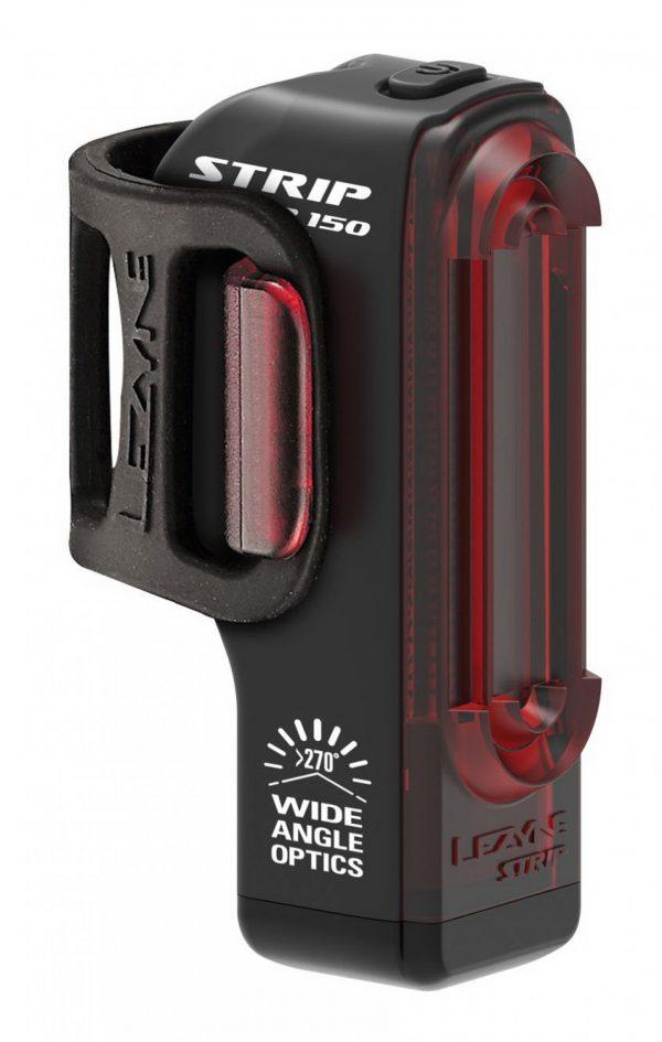 Мигалка задняя Lezyne Strip Drive Rear (150 lumen) черный Y13
