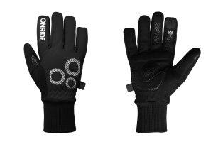 Велоперчатки ONRIDE Icy 20 черные